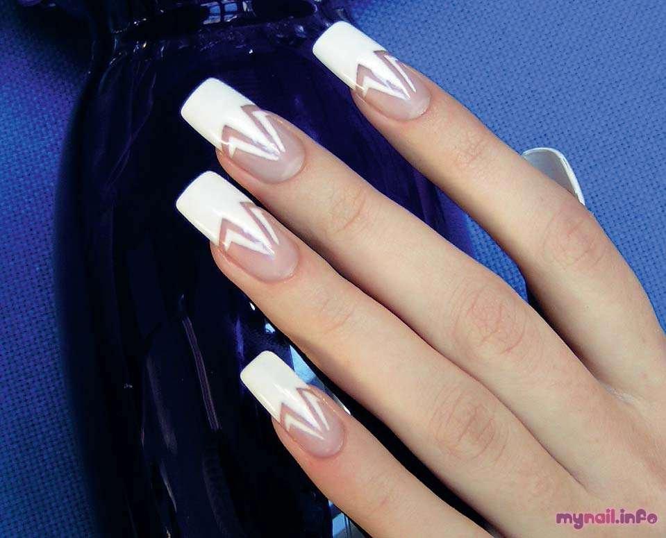 ногти нарощенные с рисунком фото 2016
