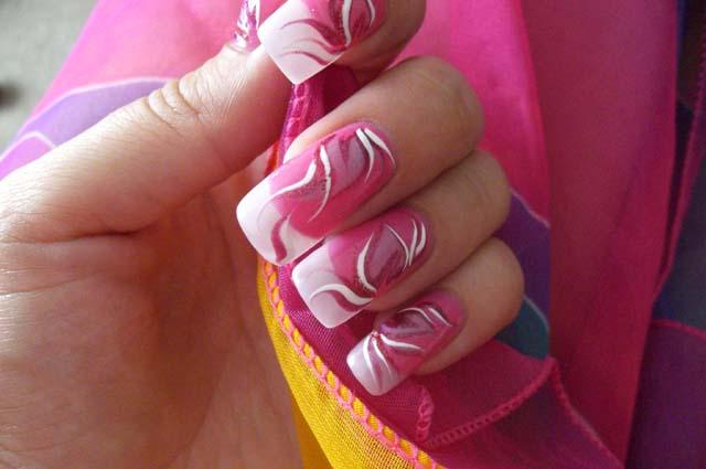 Фото красивых рисунков на ногтях в домашних условиях