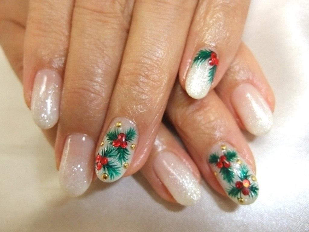 Дизайн ногтей френч зима 25 |